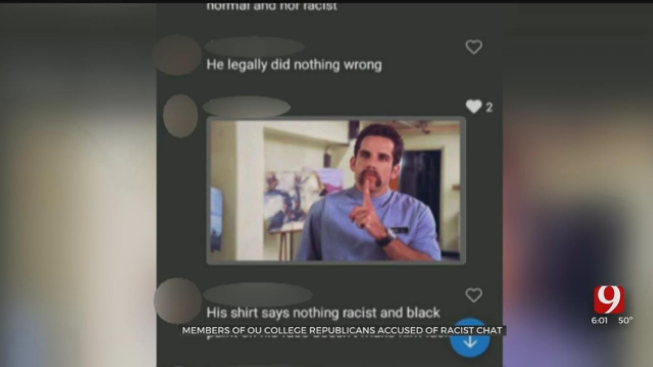 Members Of OU College Republicans Group Accused Of Racist Chat