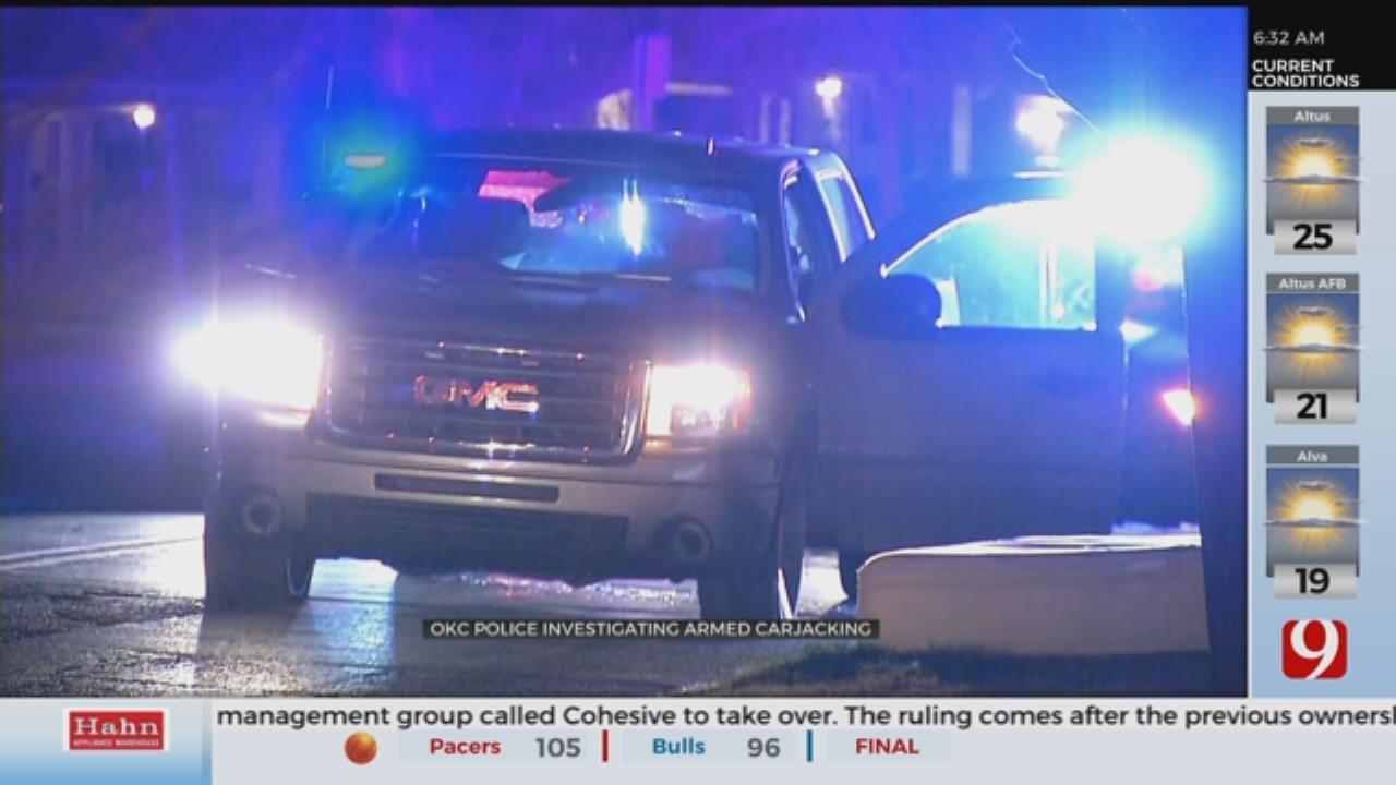 Carjacking Suspect In Custody Following SE Oklahoma City Pursuit