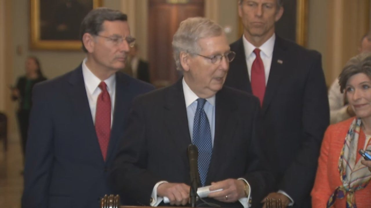 McConnell Says Trump Likely To Veto To Resolution To End National Emergency