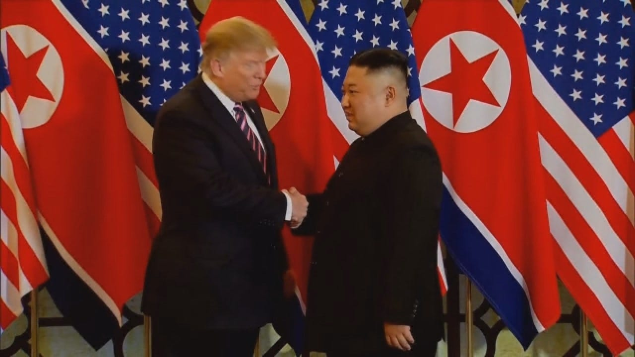 North Korea Challenges Trump's Summit Collapse Explanation With Kim Jong Un