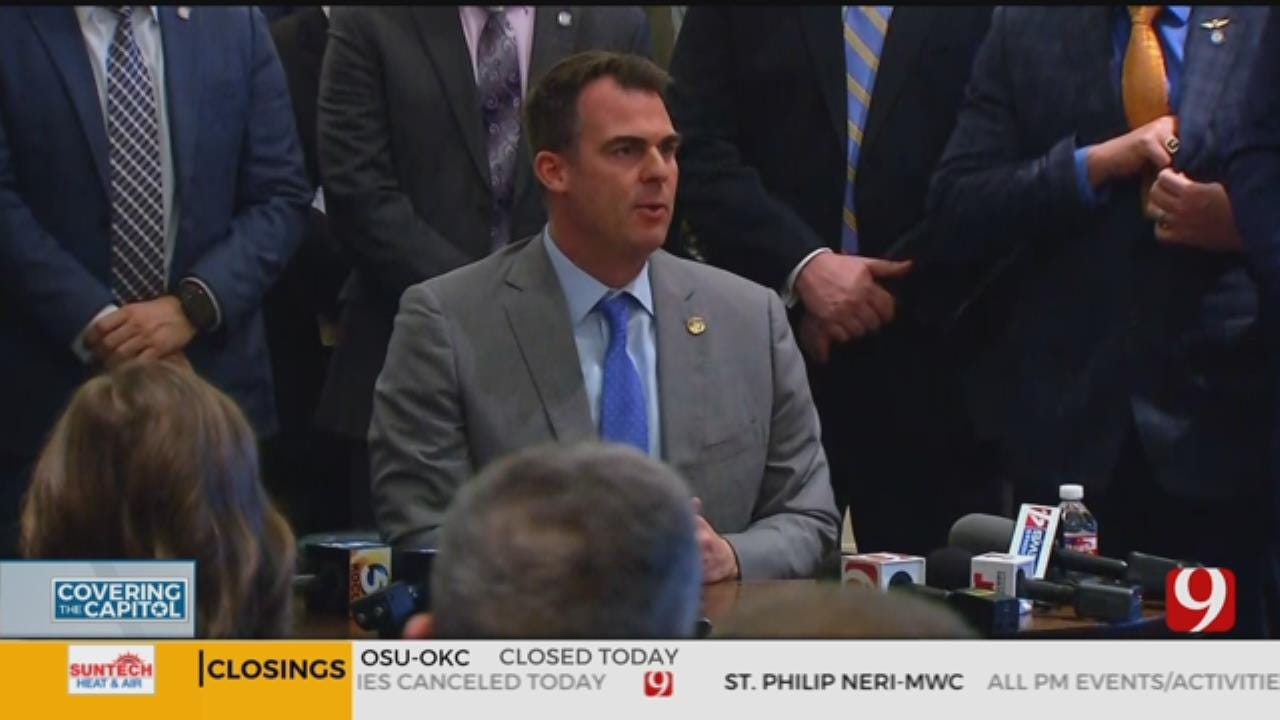 Governor Stitt Signs Permitless Carry Bill Into Law