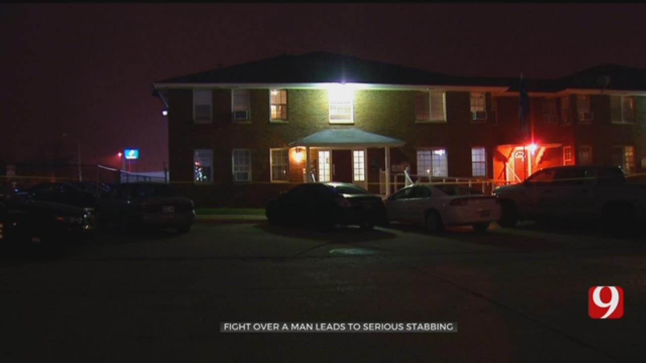 Fight Over Man Leads To Stabbing At NW OKC Apartment Complex
