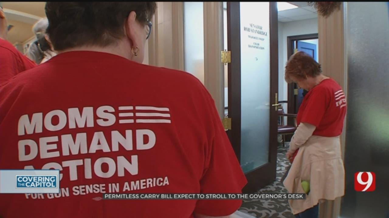'Moms Demand Action' Group Urging Senators To Vote Against Permitless Carry Bill
