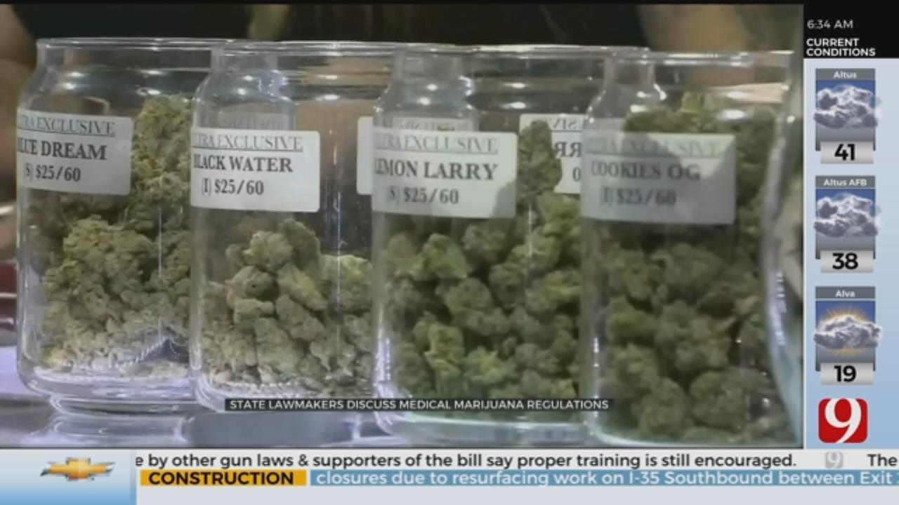 State Lawmakers Discuss Medical Marijuana Regulations