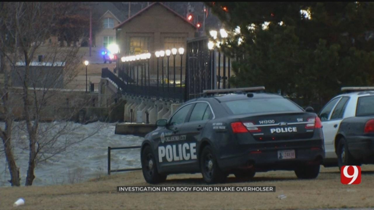 OKC Police Investigating After Body Found In Lake Overholser