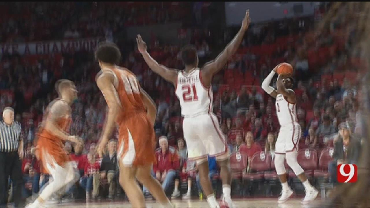 Sooners Take Down Texas In Thriller