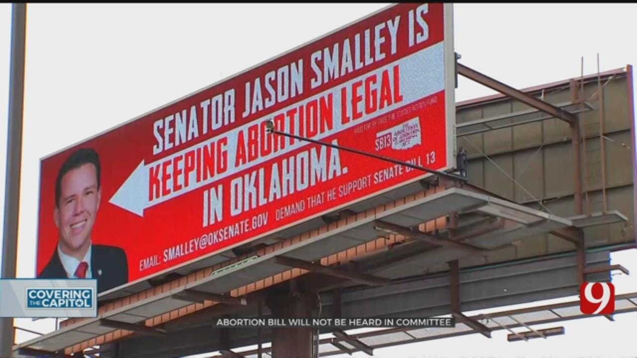 Anti-Abortion Bill Will Not Be Heard In Committee, State Lawmaker Says