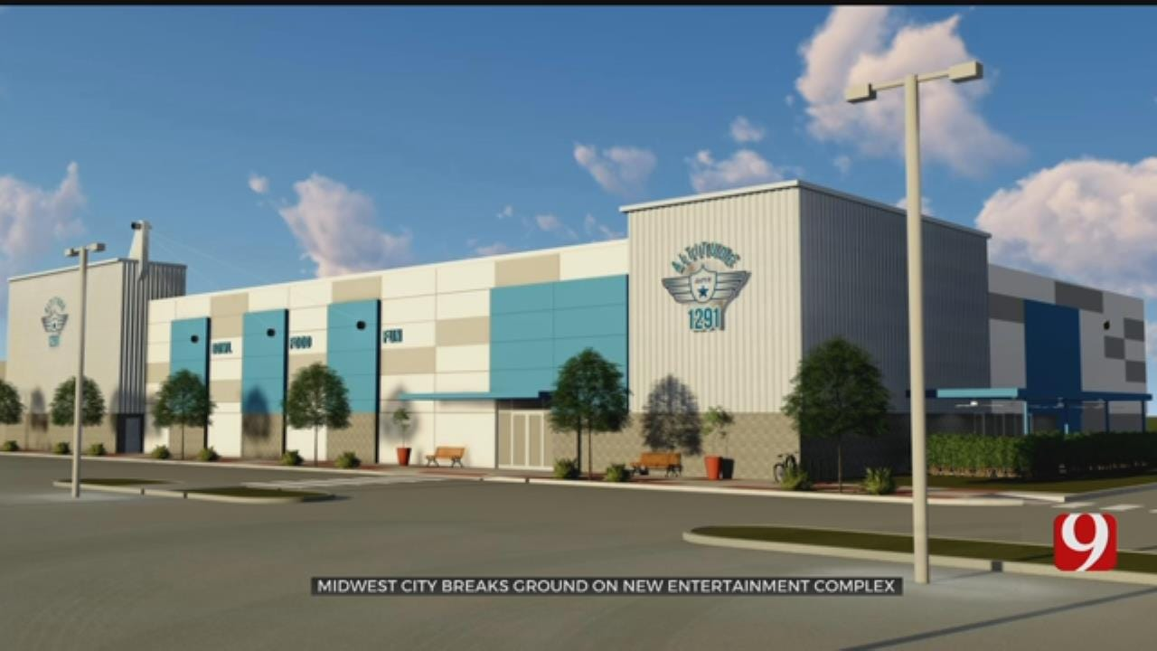 Midwest City Breaks Ground On New Entertainment Complex
