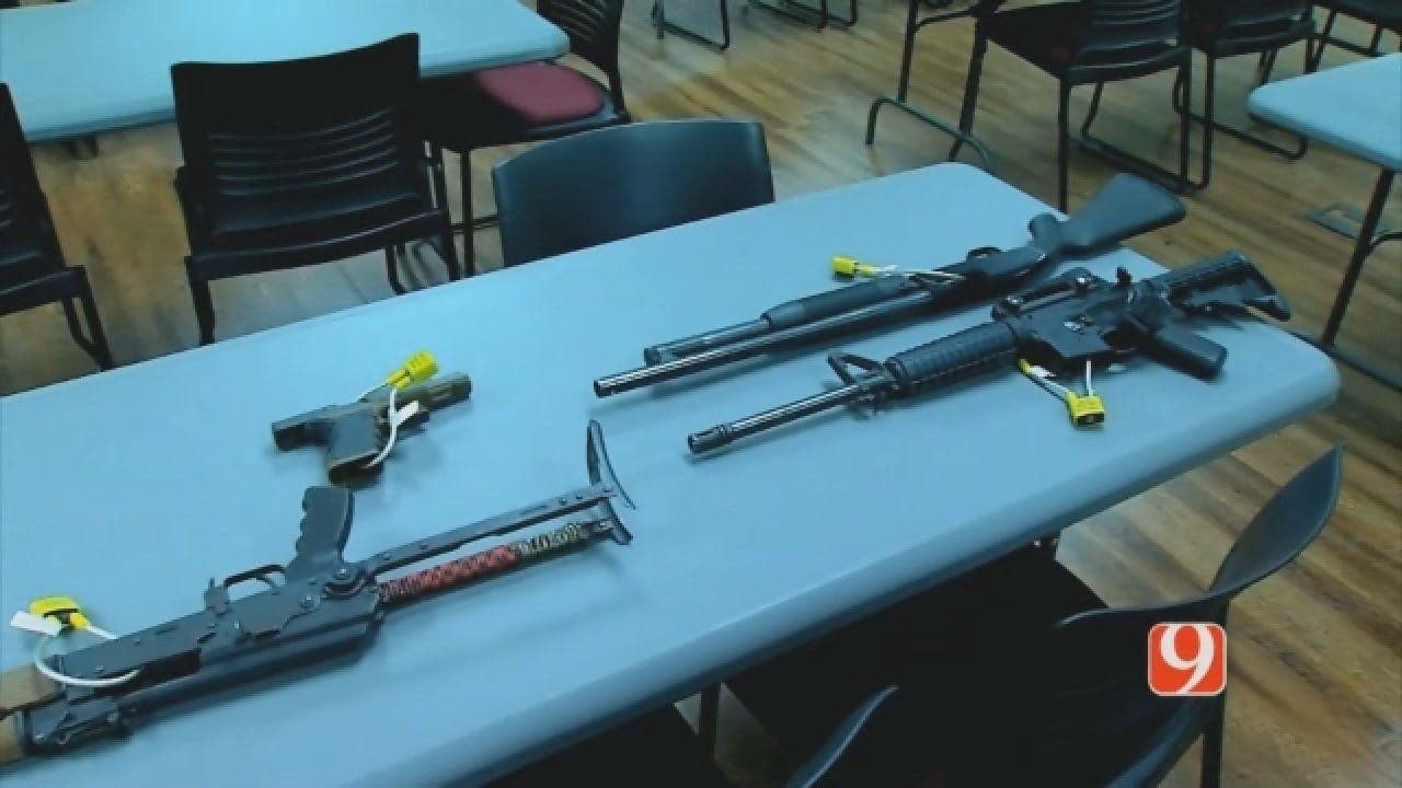 Police Arrest 2 Men Accused Of Discharging Weapons While High