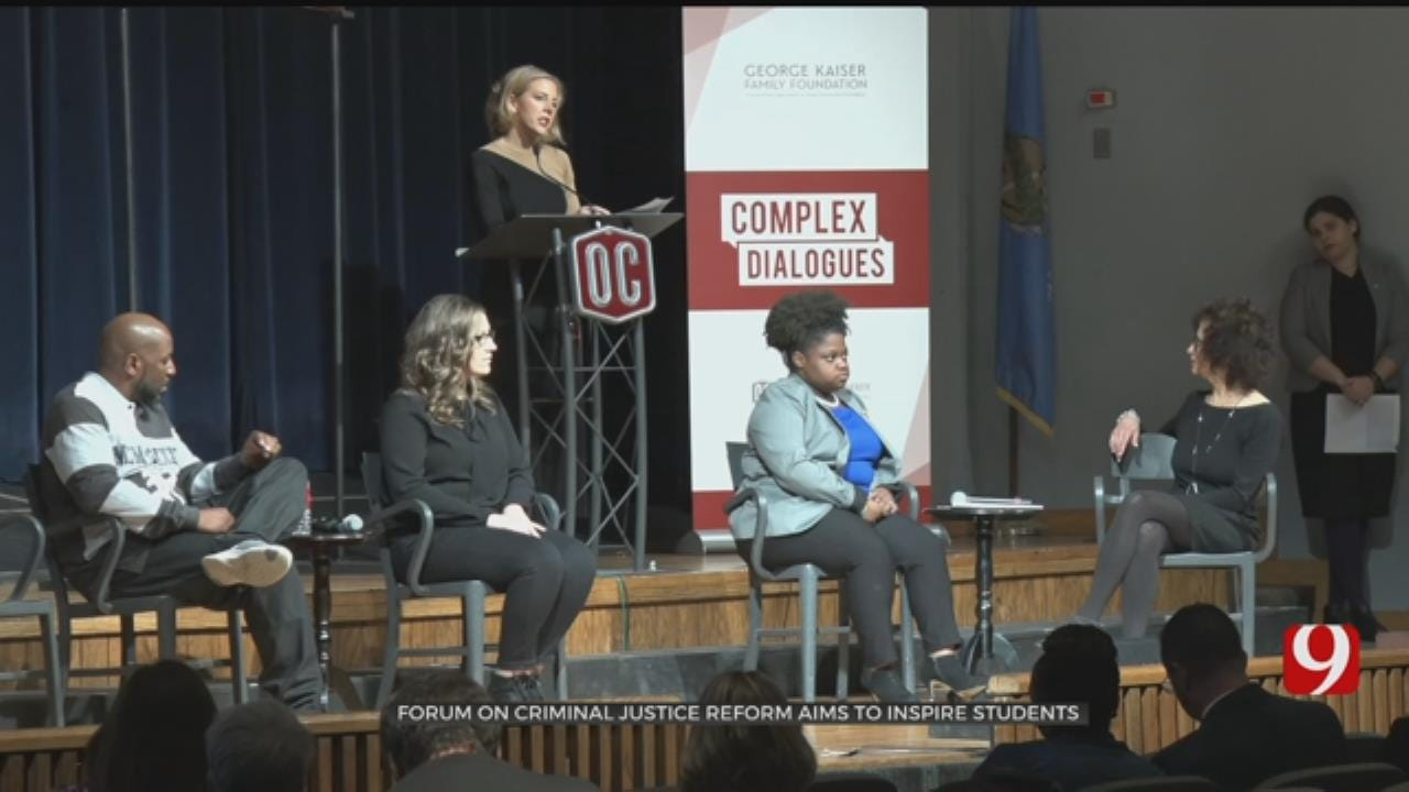Oklahoma Christian Students Learn About Criminal Justice Reform During Forum