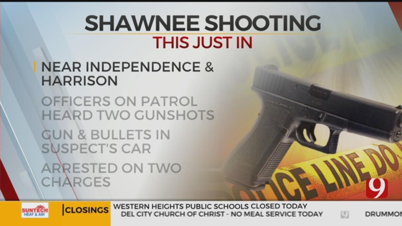 1 Arrested Following Overnight Shawnee Shooting