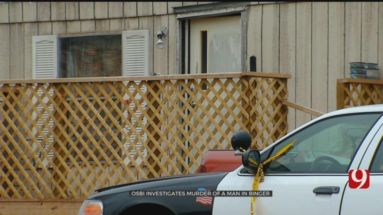 Man Found Dead In Binger Home, OSBI Investigates