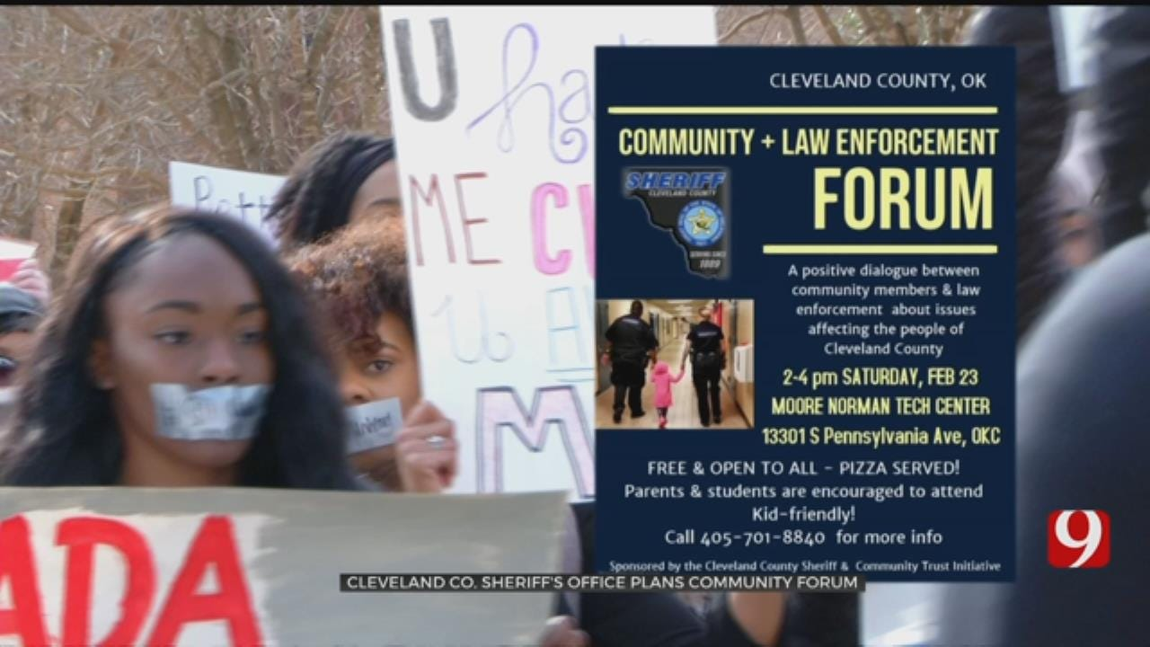 Cleveland County Sheriff Invites All Citizens To Attend Community Forum