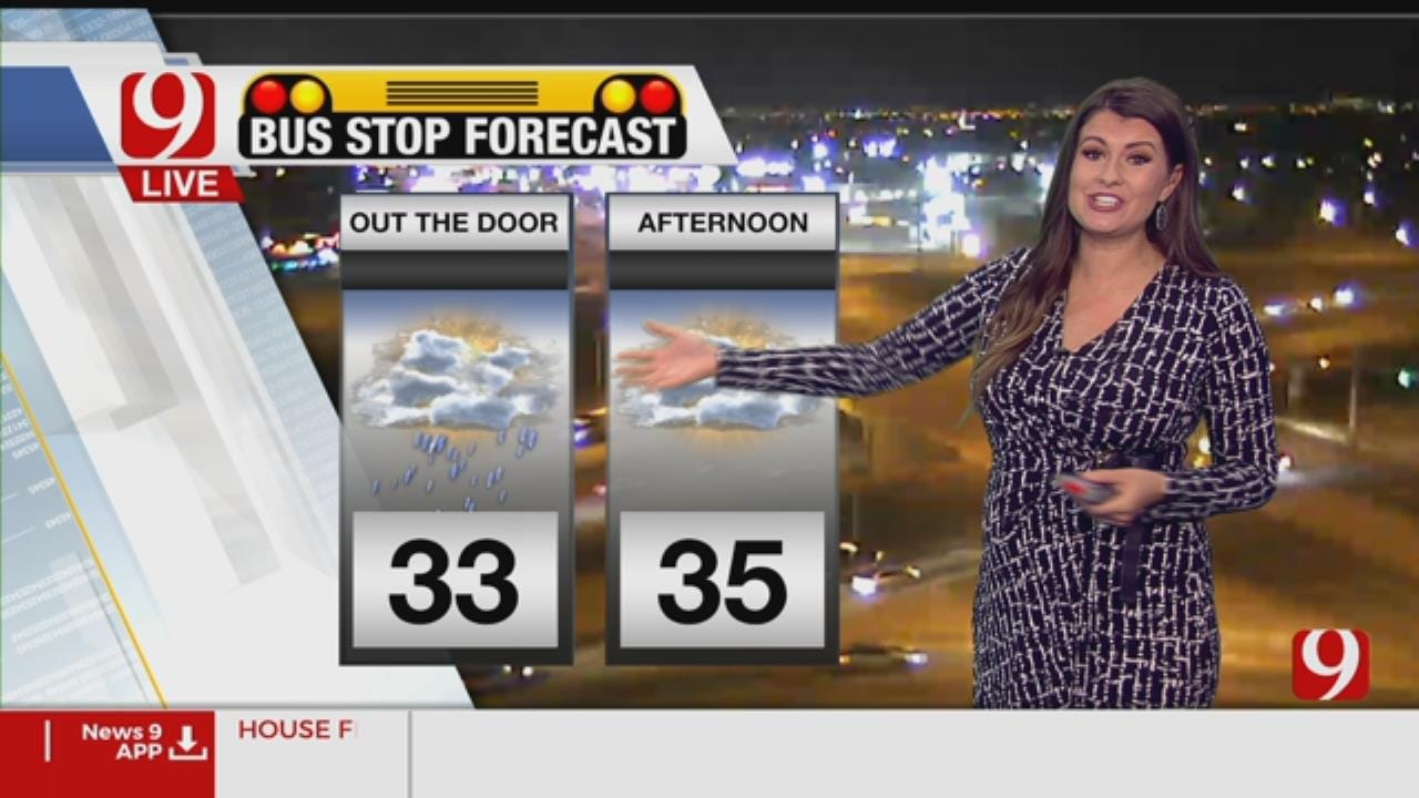 Friday Bus Stop Forecast