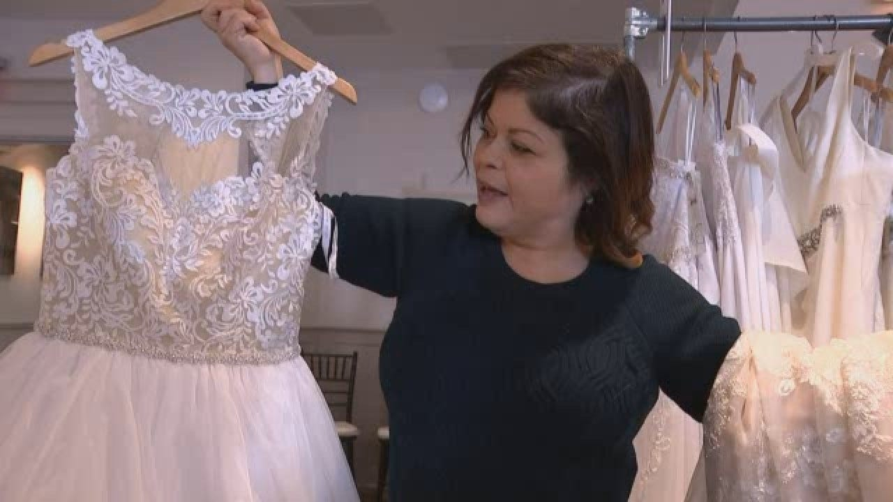 Hundreds Of Weddings Gowns Given Away To Veterans, Military Families