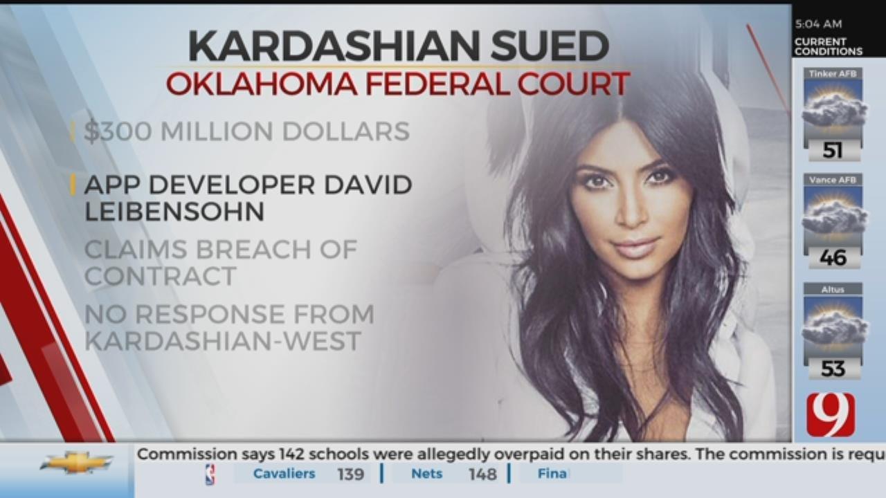 Oklahoma Man Sues Kim Kardashian For $300 Million