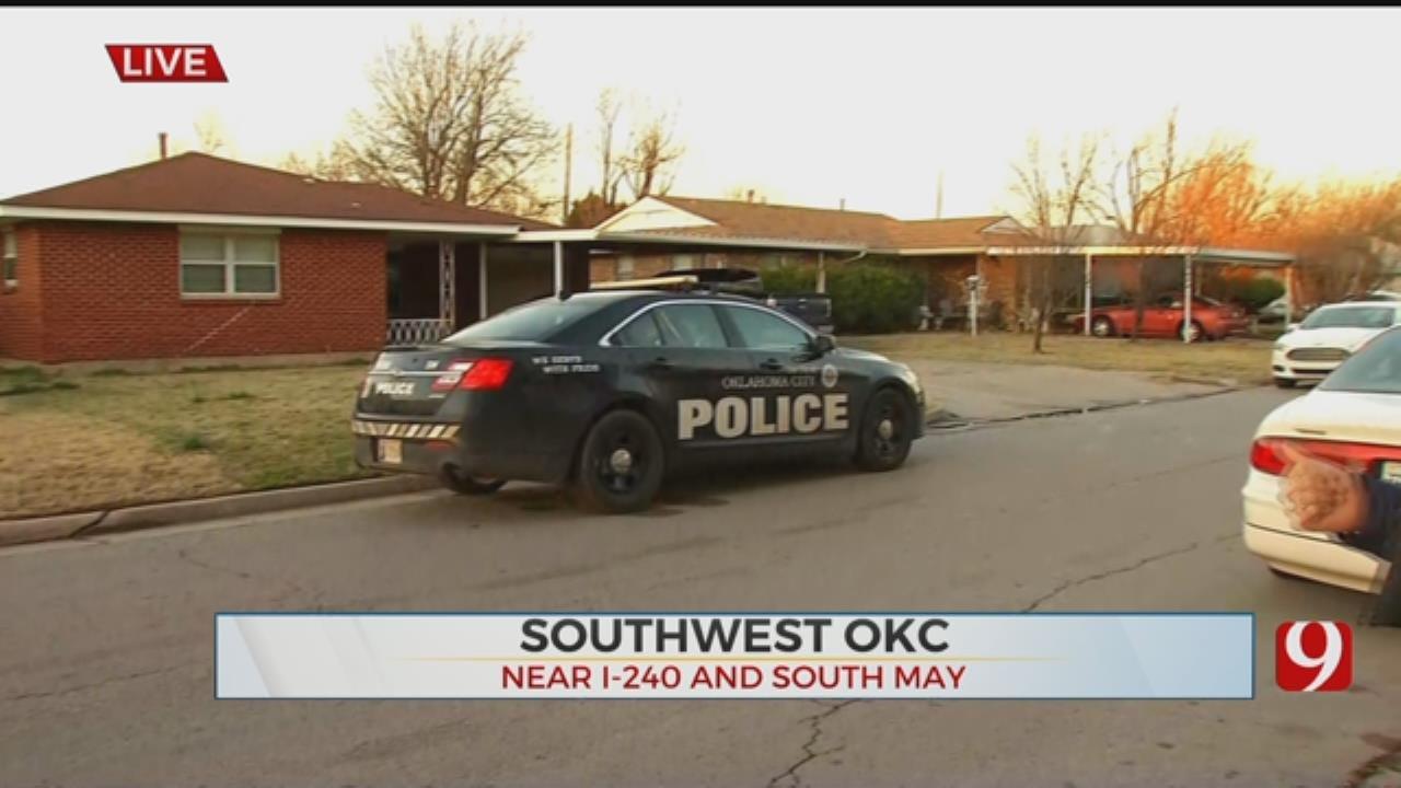 Officials Investigate SW OKC Homicide