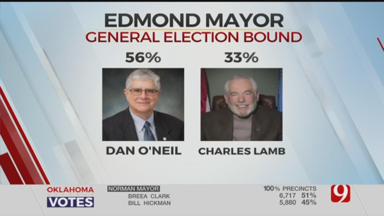 Deceased Edmond Mayor And Dan O'Neil To Face Off In General Election