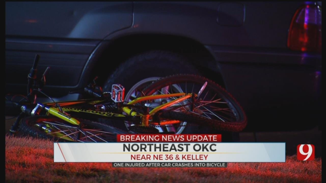 Person Riding Bicycle Struck By Car In NE OKC