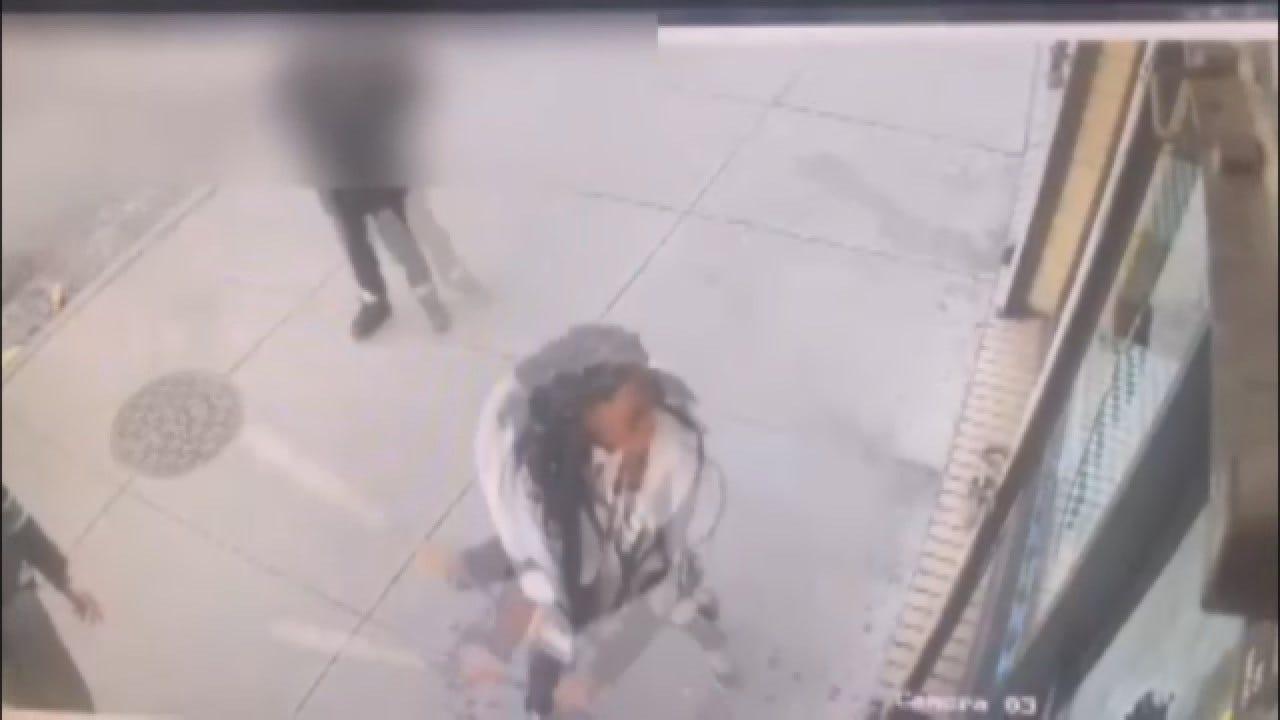 WATCH: Woman Accused Of Smashing Windows After Restaurant Runs Out Of Beef Patties