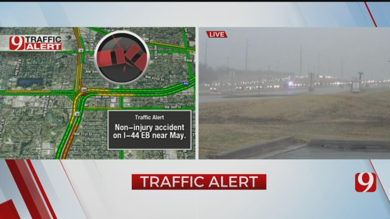 Accident Caused Big Back Up On Southbound Lake Hefner Parkway