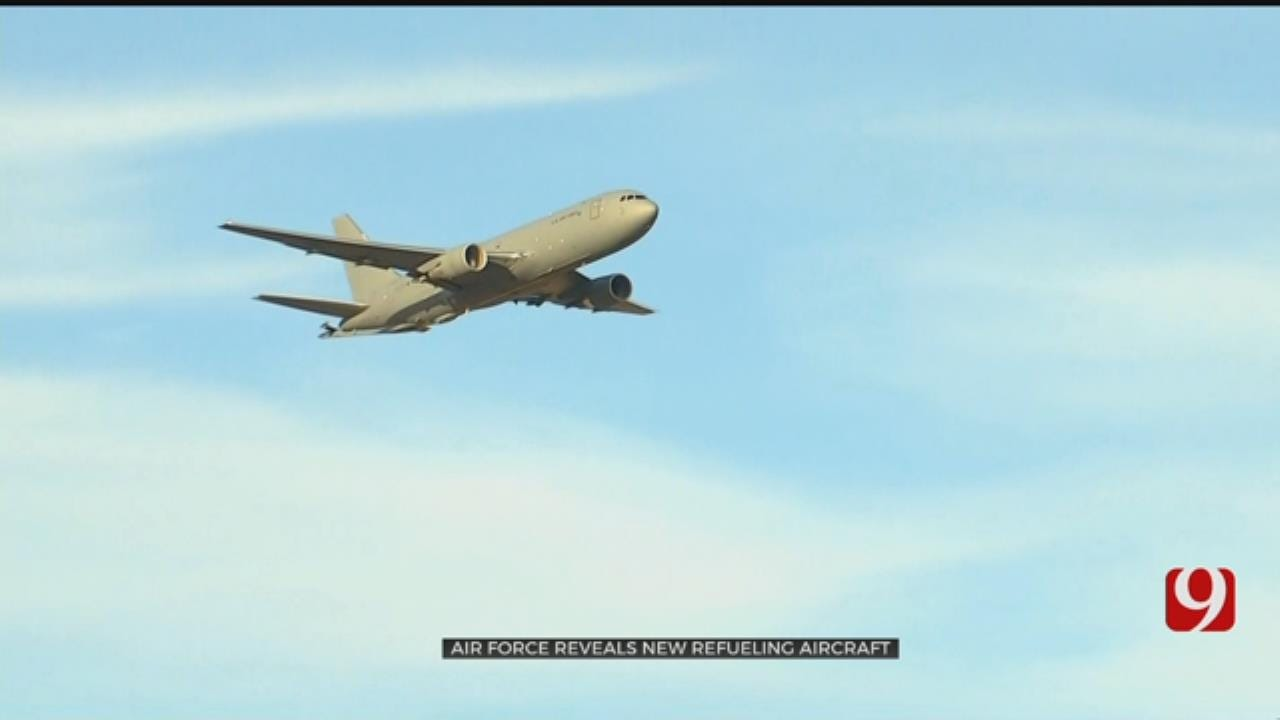 Altus Air Force Base Welcomes New KC-46 Plane
