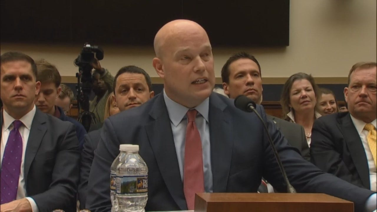 Whitaker: I Have 'Not Interfered' With Mueller Investigation