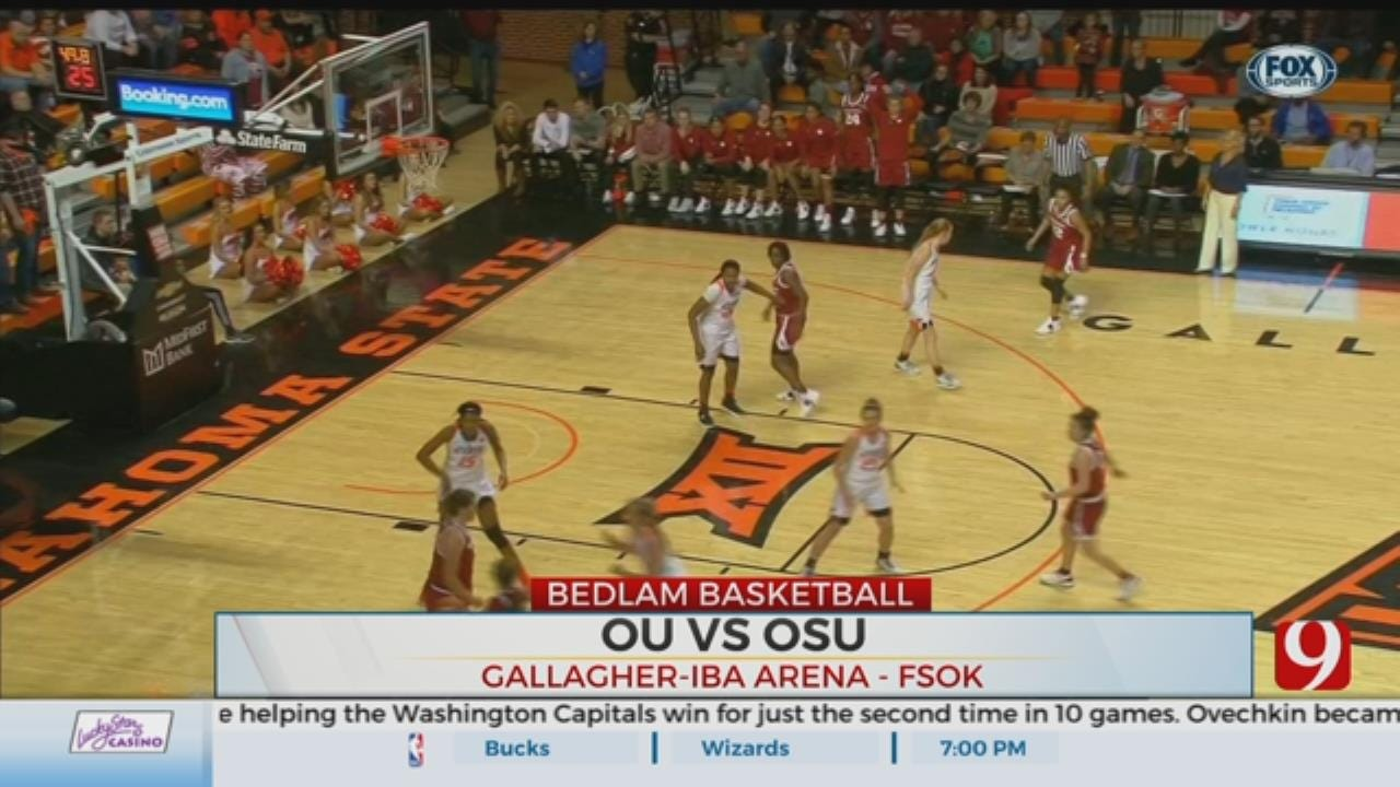 Bedlam: OSU Beats In-State Rival OU 84-74