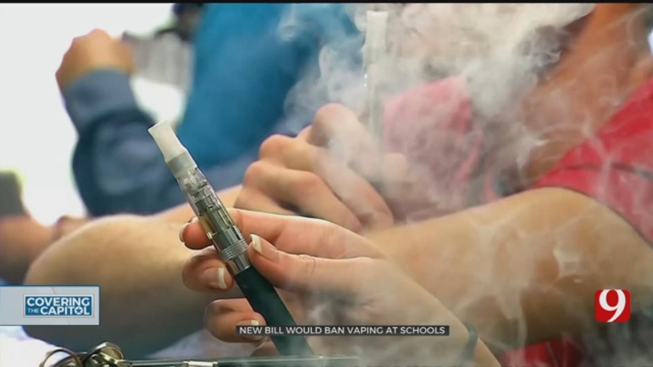 New Bill Would Ban Vaping At Oklahoma Schools