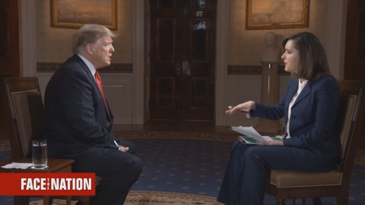 President Trump: 'So Many Really Horrible Things Have Been Happening In Venezuela'