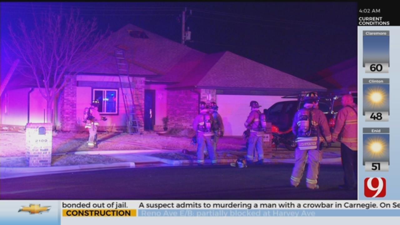 2 Escape Overnight NW OKC House Fire