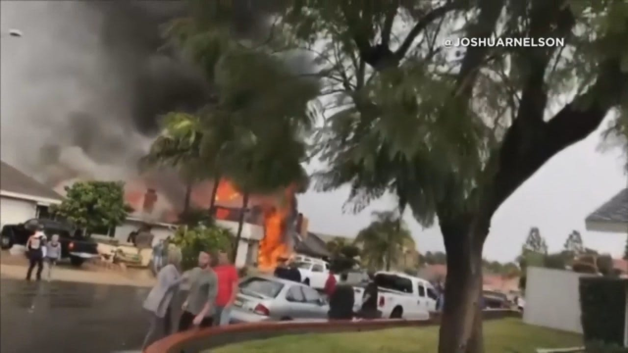 2 Dead After Plane Crashes Into Home