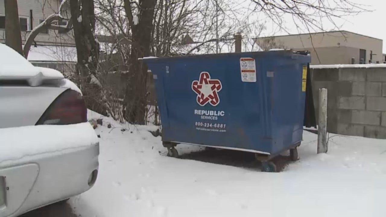Man Arrested After Frozen Dog Found In Dumpster