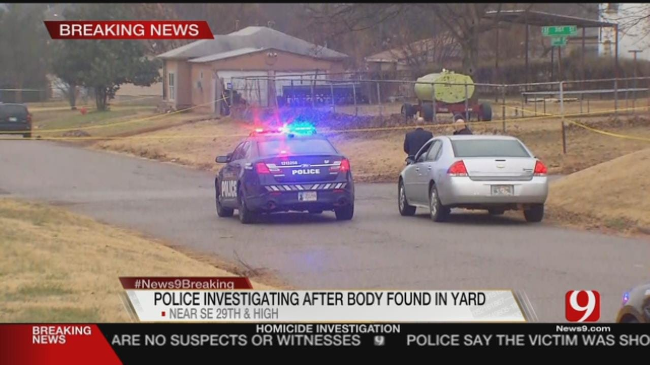 Officials Investigate Body Found In SE OKC