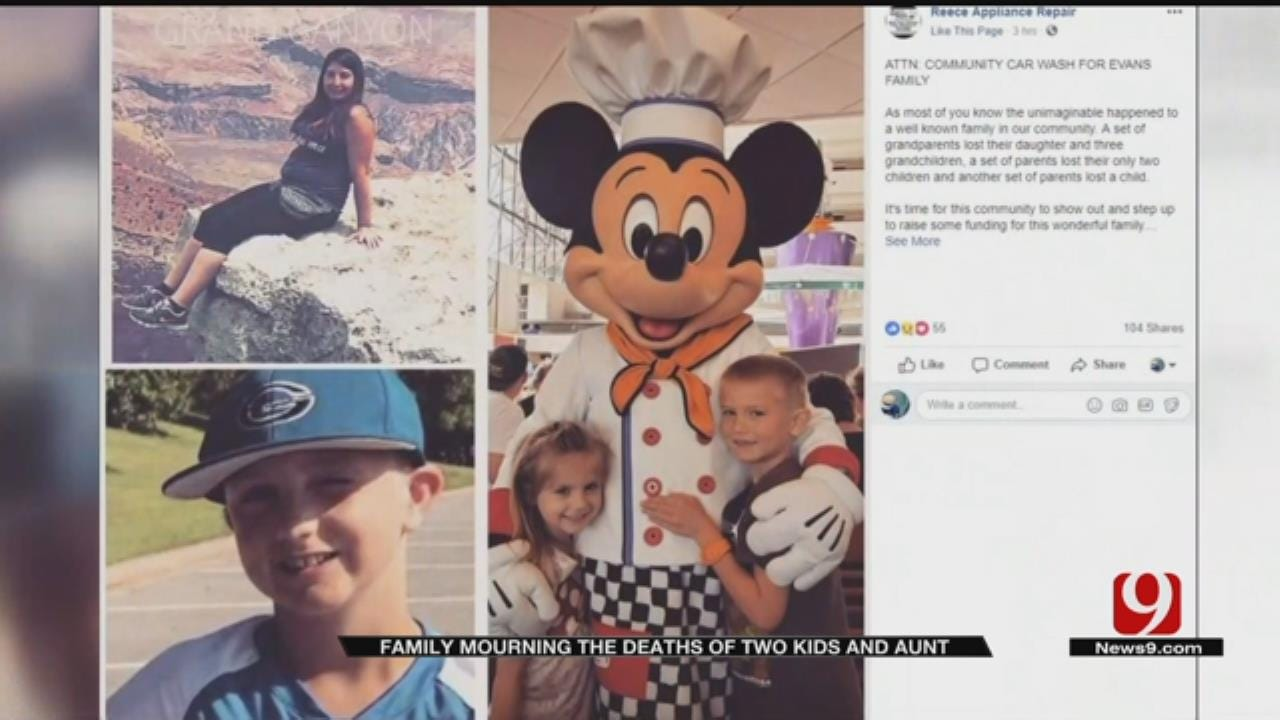 Community Mourning After Woman, 3 Children Die In OKC Apartment Fire