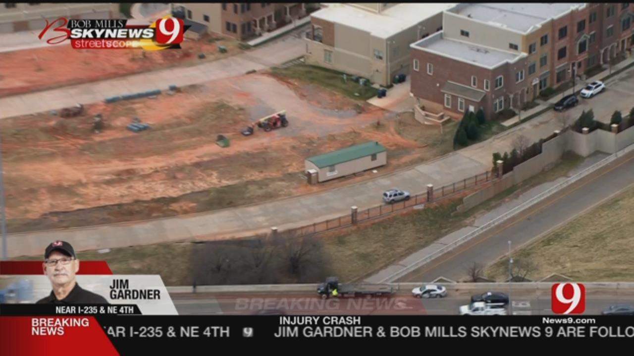 Emergency Crews Respond To I-235 Injury Accident