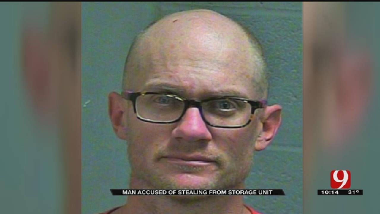 Edmond Artist Accused Of Stealing From Storage Unit