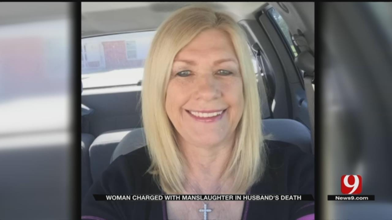 Pottawatomie County Woman Charged With Manslaughter In Husband's Death