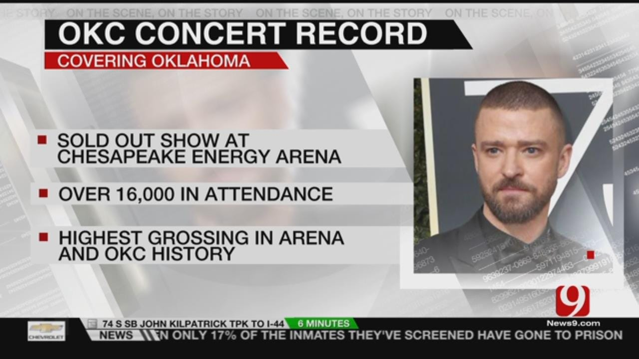 Justin Timberlake's 'Man Of The Woods' Tour Sets OKC Record
