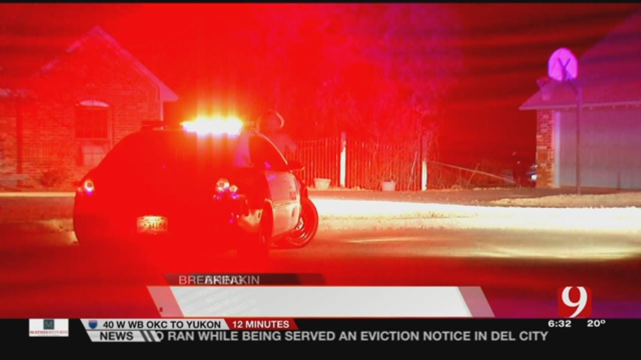 MWC Police Searching For Suspect Following Short Pursuit