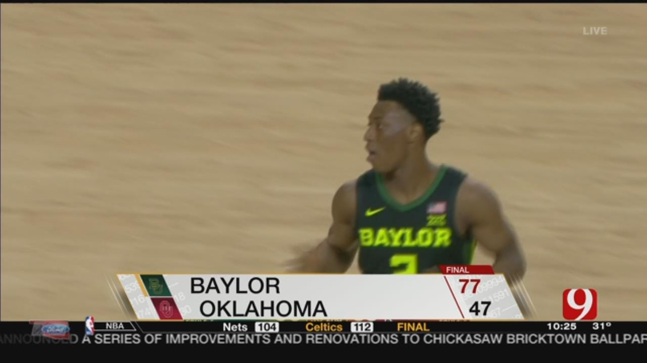 OU Loses To Baylor 77-47
