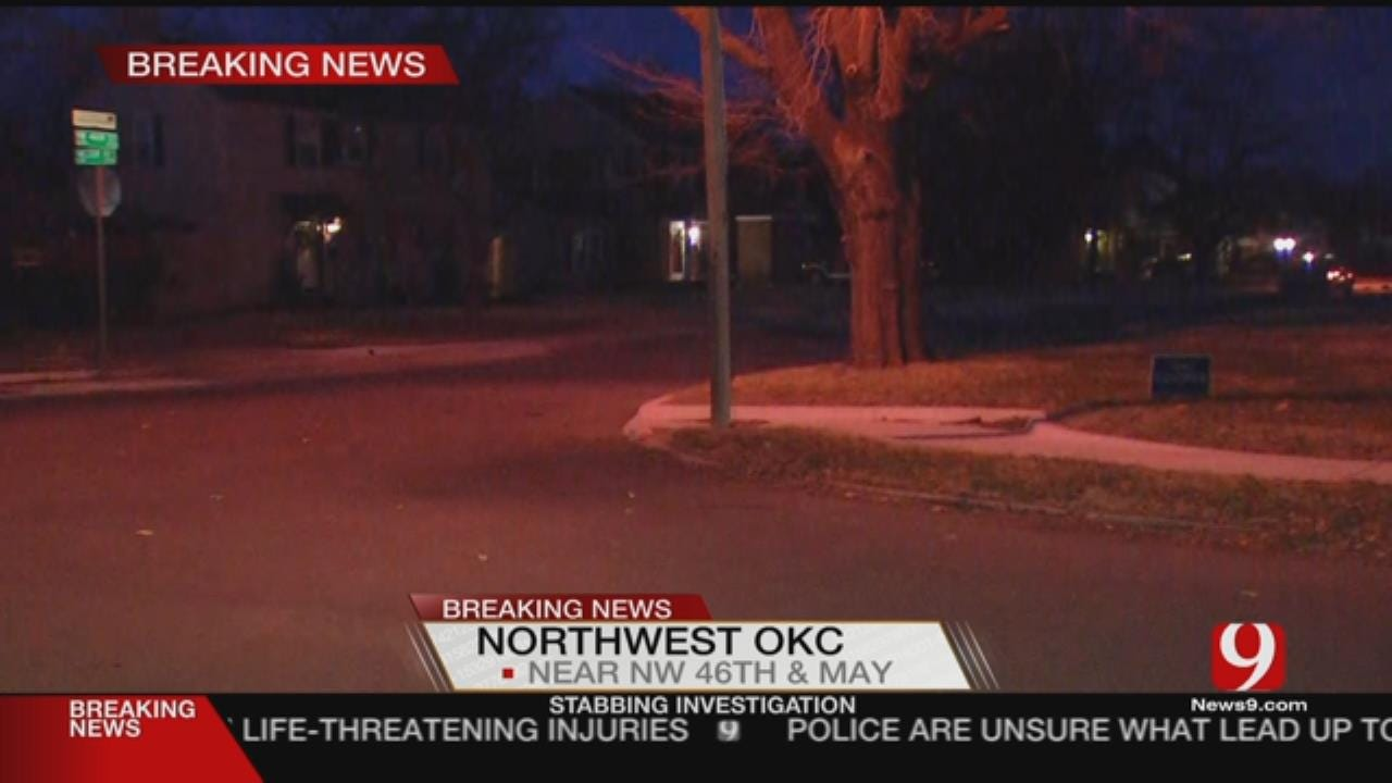 Police Searching For Suspect After NW OKC Stabbing