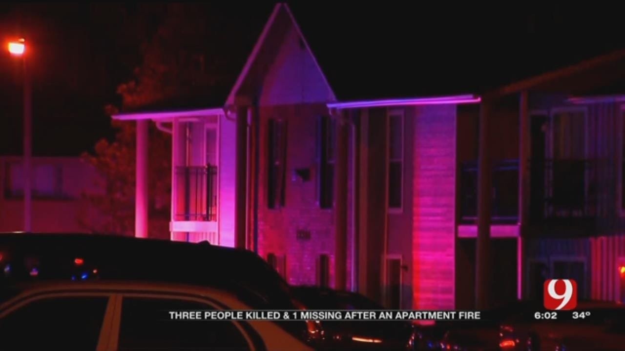 3 Dead After Fire At OKC Apartment