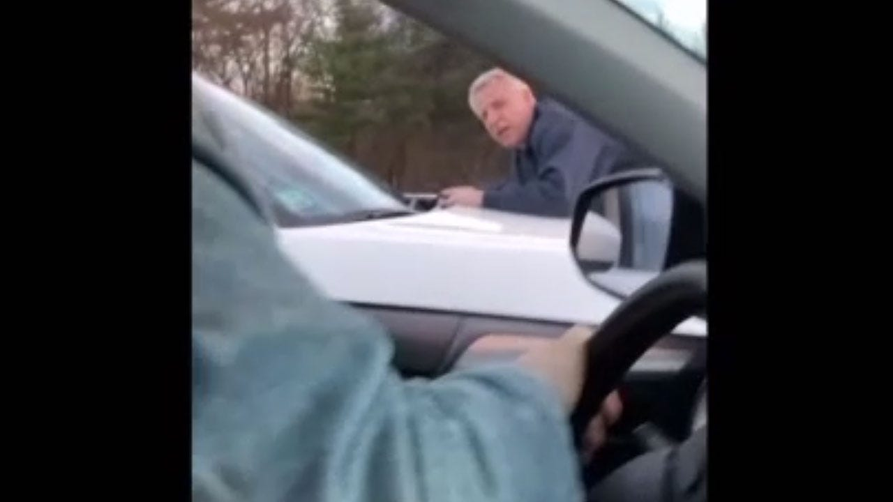 Man Ends Up On Hood Of Moving SUV During Road Rage Incident