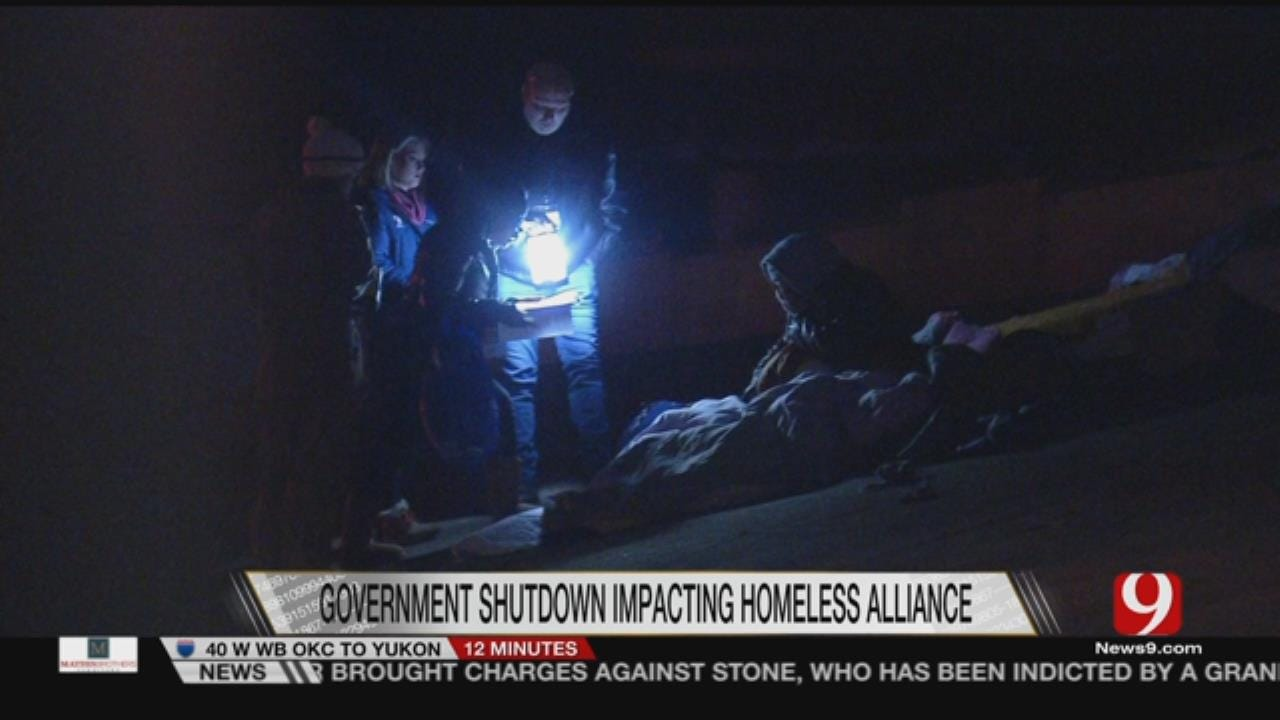 Government Shutdown Impacting OKC Homeless Alliance