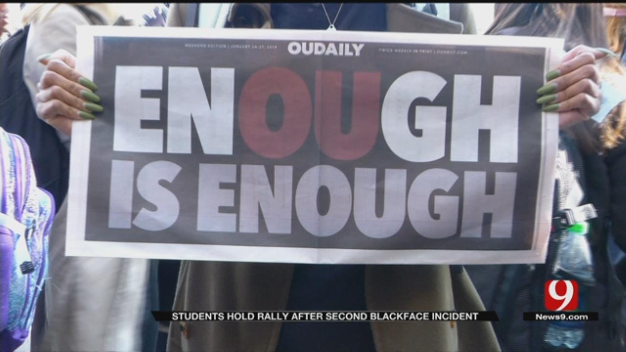 OU Students Hold 'Better Together' March After Second Blackface Incident