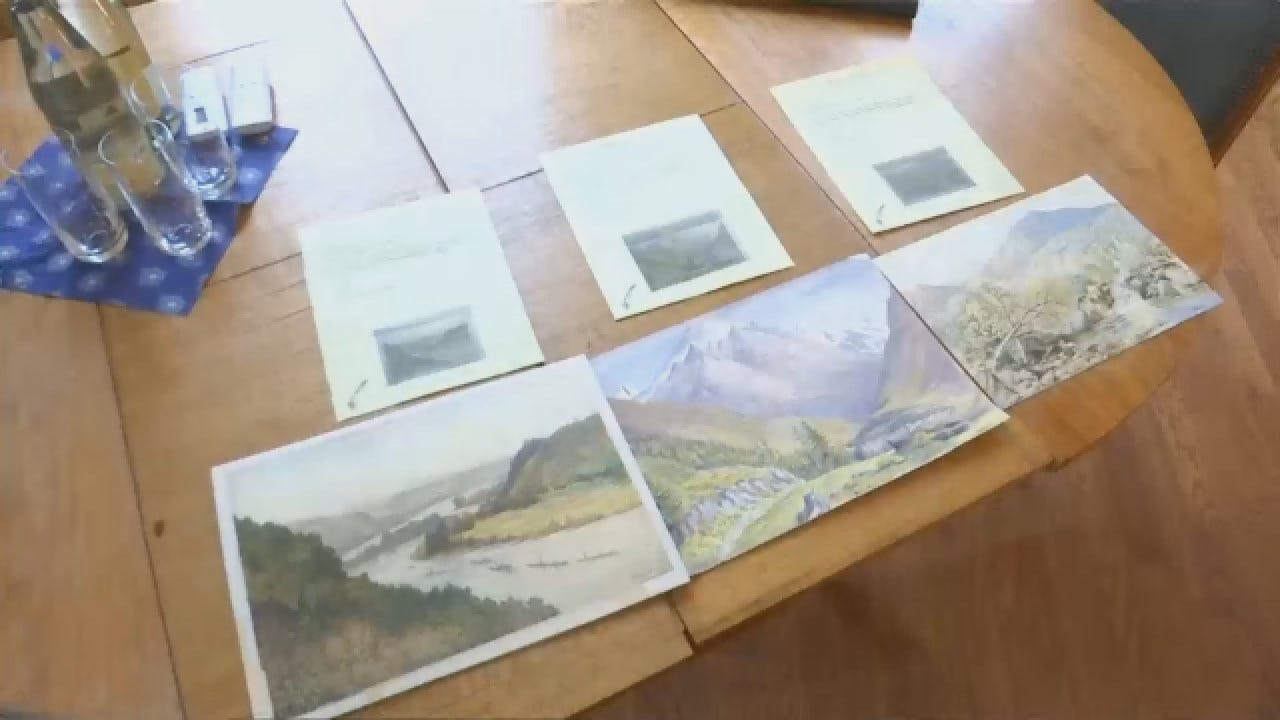 Hitler's Watercolors Go Up For Auction In Germany