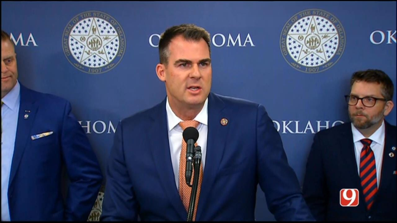 Gov. Stitt Announces 1st Executive Orders