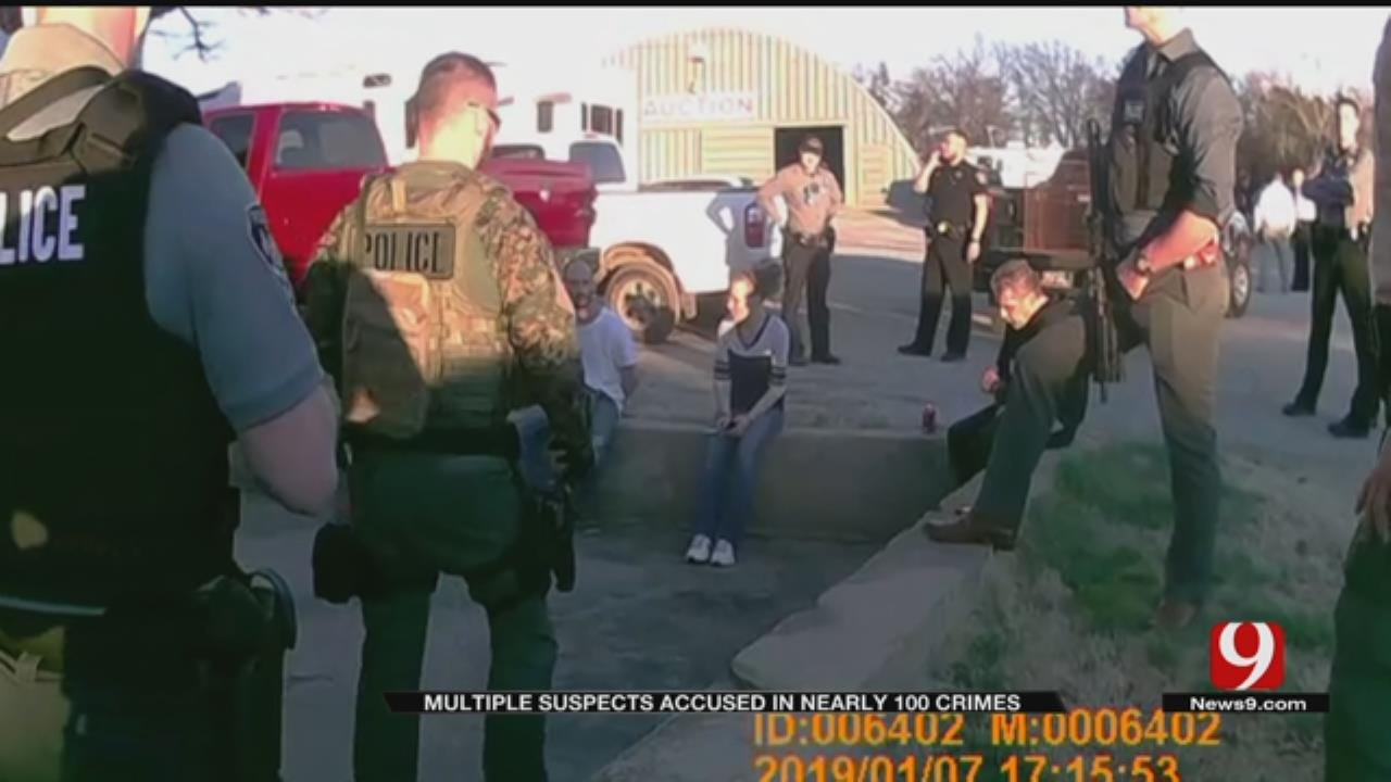Multiple Suspects Accused In Over 100 Crimes After Search Of OKC RV Park