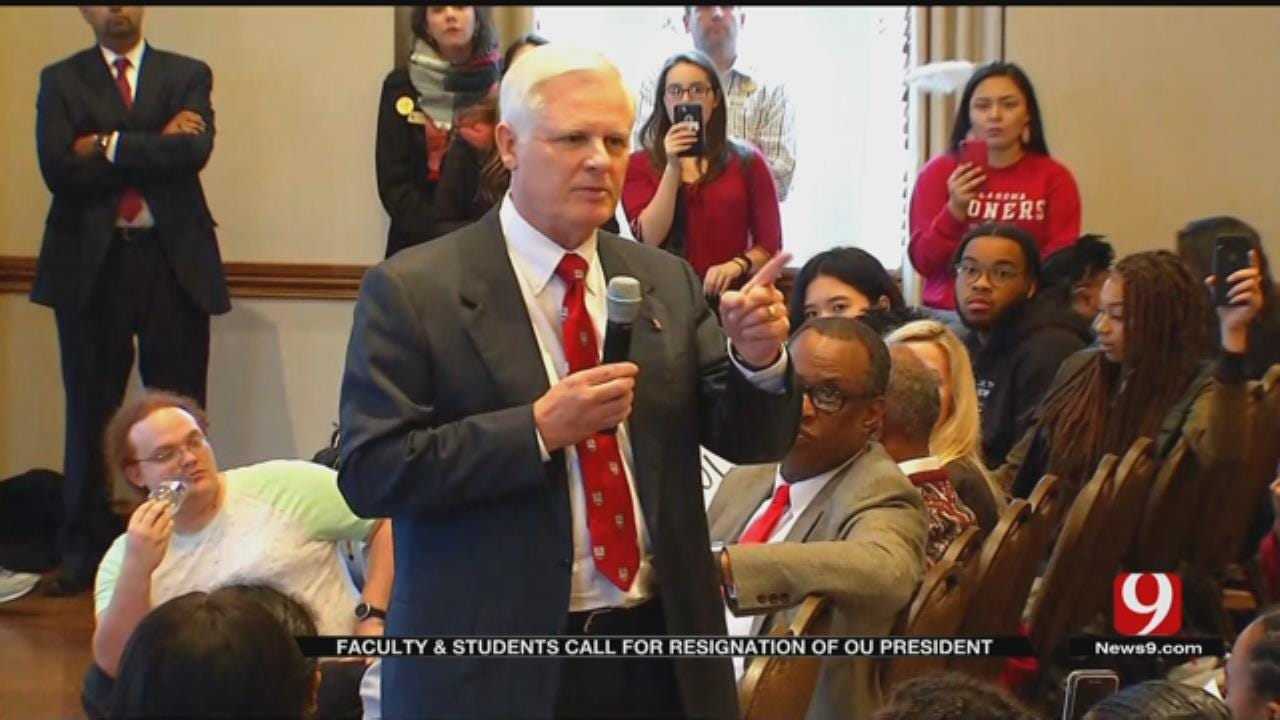 Emotions Run High As OU Faculty, Students Demand Change After Racist Video